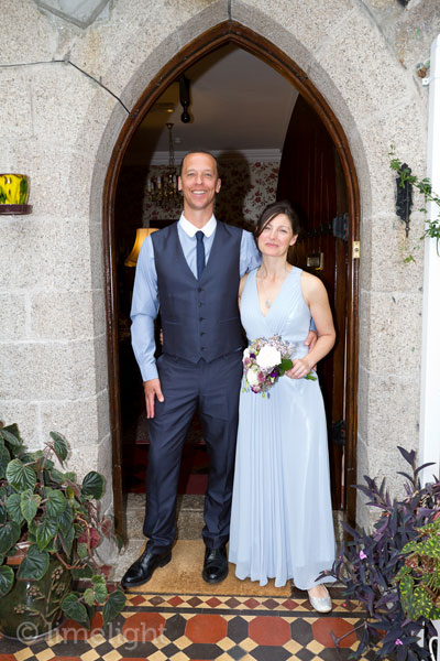 Bray Wedding at the Old Vicarage St Ives